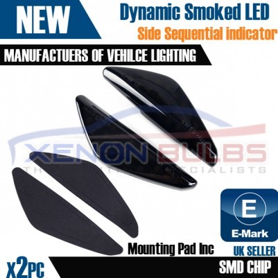 2x Sequential Dynamic Indicator Side Markers LED BMW E70 X5 E71 X6 F25 X3 UK