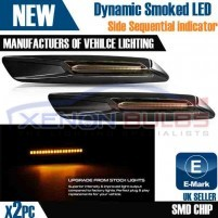 2x Sequential Dynamic Indicator Side Marker LED BMW E81 E82 E60 E91 E9..