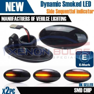 2x Sequential Dynamic Indicator Side Marker LED Suzuki Swift Alto SX4 UK STOCK