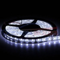 5050 300 SMD Strips Pure White Super Bright LED Flexible Waterproof..