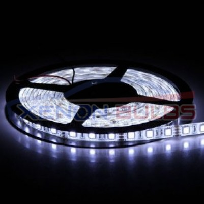 5050 300 SMD Strips Pure White Super Bright LED Flexible Waterproof
