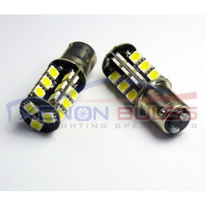 1157 BAY15D 380 Xenon 27 LED SMD