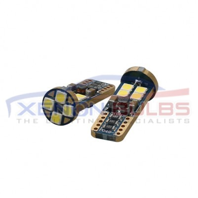 2x T10 501 12 SMD CANBUS ERROR FREE 3030 chips