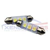 39MM 3SMD FESTOON BULBS C5W PAIR..