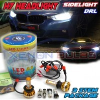 BMW F30 PACKAGE DEAL DIPPED BEAM SIDELIGHTS DAYTIME LIGHTS LED WHITE S..