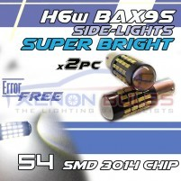 BAX9S H6w 54 SMD 3014 CANBUS ERROR FREE to fit BMW F30 Audi TT MK1..