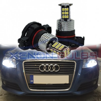 30 SMD PS19W AUDI A3 LED WHITE DRL SIDELIGHT BULB H16 5202 PSX24W 9009