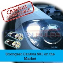 T10 501 8 SMD HEAT SHRINK AUDI STRONG CANBUS ERROR FREE..
