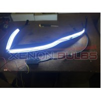85cm Light Bar Strips White DRL Amber Indicator Flexible Strong Cuttab..