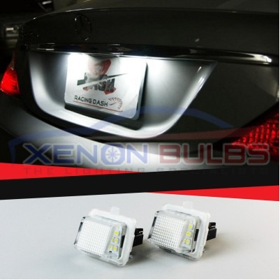 Mercedes Benz W204 W221 W212 C207 LED License Number Plate Light Bulbs Lamps