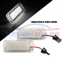 2x FORD 18 SMD LED NUMBER PLATE UNITS..