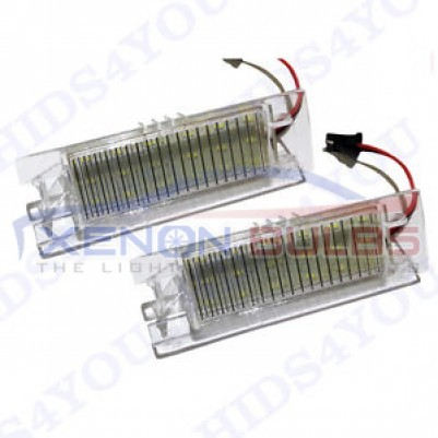 VAUXHALL LED NUMBER PLATE UNITS