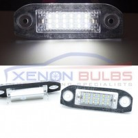 VOLVO 18 SMD LED NUMBER PLATE UNIT CANBUS ERROR FREE..