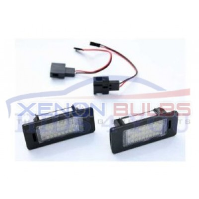 AUDI 24 LED NUMBER PLATE LIGHT TT Q5 A4 S4 B8 A5 S5 2007 UNIT ERROR FREE CANBUS