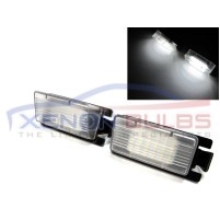 NISSAN CUBE GTR 350Z 370Z 24 WHITE LED LICENSE NUMBER PLATE LAMP LIGHT..