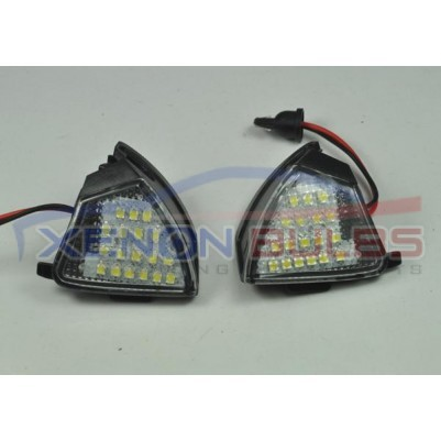 VW GOLF MARK 5 18SMD LED UNDER MIRROR PUDDLE LIGHTS