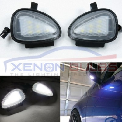 VW GOLF MARK 6 18 SMD LED UNDER MIRROR PUDDLE LIGHTS