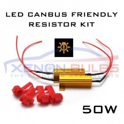 50W 6ohm LED CANBUS FREE - LOAD RESISTOR KIT
