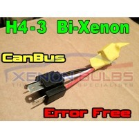 H4-3 Bi Xenon Can-Bus Error RESISTORS WARNING CANCELLER FREE Car Bulbs..
