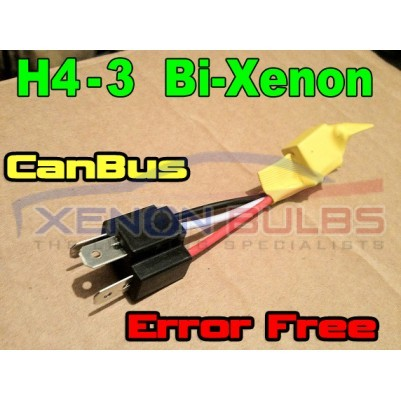 H4-3 Bi Xenon Can-Bus Error RESISTORS WARNING CANCELLER FREE Car Bulbs Harness