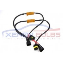 H11 LED Light Xenon HID HeadLight Fog DRL No Error Resistor Wiring Har..