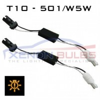 T10 - 501/W5W LED CANBUS RESISTOR - ADAPTOR KIT..